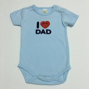 LITTLE BABY M เสื้อผ้าเด็กเล็ก บอดี้สูท 3 ตัว set Love Dad (image 1)