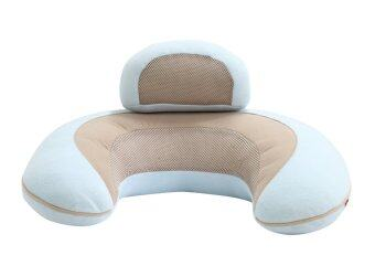 Ailebebe หมอนรองให้นม 3 Way Cushion Macaron - สีฟ้า image