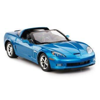 Hitech รถ Model บังคับวิทยุ Chevrolet Corvette C6 GS (สีน้ำเงิน)