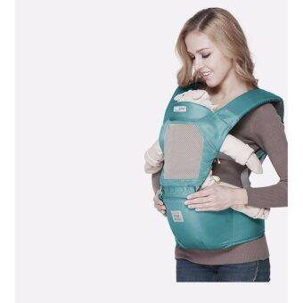 Baby Hipseat carrier เป้อุ้มเด็กฮิปซีท เป้อุ้มเด็กสะพายหลัง น้ำหนักเบา พกพาสะดวก หลากหลายการใช้งาน image