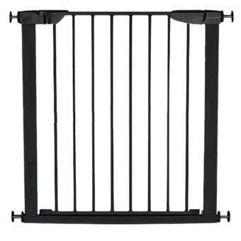 2Smile ที่กั้นบันได ที่กั้นประตู รั้วกั้นสุนัข 75-82 ซม. สีดำ image