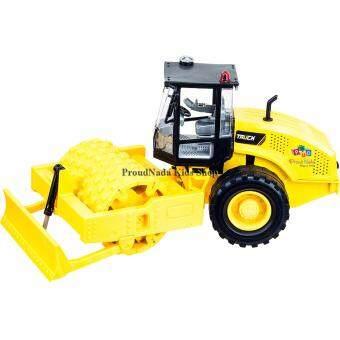 ProudNada Toys ของเล่นเด็กรถบดถนนฝาครอบ BUILDERS UNMATCHED STRENGTH NO.218