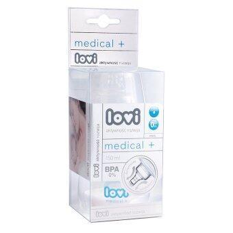 LOVI ขวดนมคอกว้าง Medical - รุ่น 150ml.