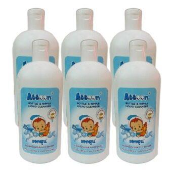Attoon Bottle & Nipple Liquid Cleanser 1,000 ml. (6 ขวด)
