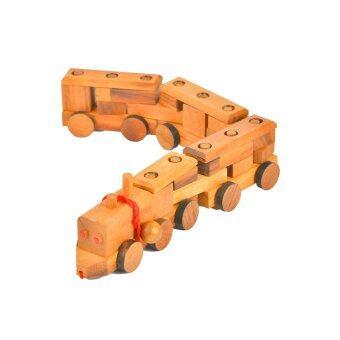 Ama-Wood ของเล่นไม้รถไฟ Super Train - ใหญ่
