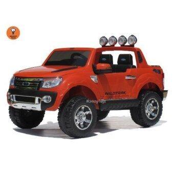 Monkey Toys รถกะบะ ยี้ห้อ ฟอร์ด รุ่น 3.2 6 speed (สีส้ม)