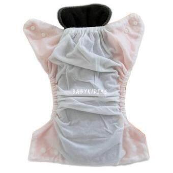 BABYKIDS95 กางเกงผ้าอ้อมซักได้ กันน้ำ TPU + แผ่นซับชาโคลหนา5ชั้น (Red,Green) (image 2)