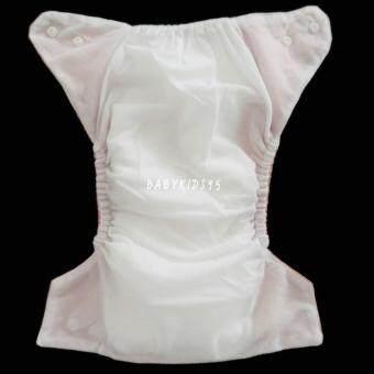 BABYKIDS95 กางเกงผ้าอ้อมซักได้ กันน้ำ TPU + แผ่นซับชาโคลหนา5ชั้น (Red,Green) (image 1)