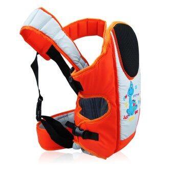 HHsociety เป้อุ้มเด็ก 4 in 1 Jigsaw รุ่น Model 03 - สีส้ม (image 1)