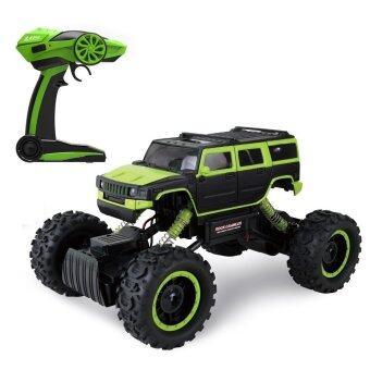 Babybearonline รถไต่หิน 2.4ghz 4WD Rock Crawler 1:14 (GREEN)