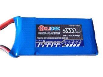 Babybearonline Battery Helicox 1,500 mah 7.4 Volt 30 C
