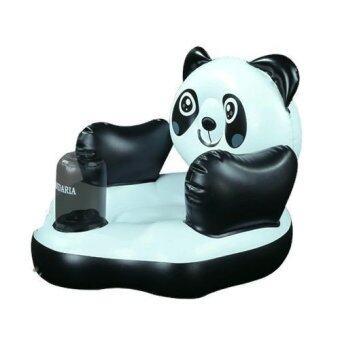 Madamphooh Baby Chair เก้าอี้หัดนั่งเป่าลม โซฟาเด็ก สไตร์ญี่ปุ่น ลายหมีแพนด้า