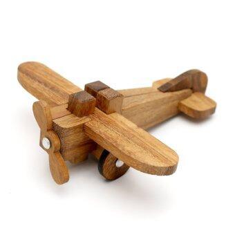 Ama-Wood ของเล่นไม้เครื่องบิน (The Airplane Puzzle)