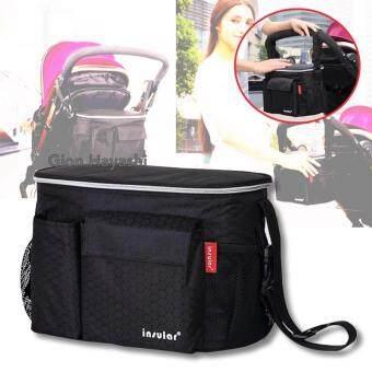 Hayashi - กระเป๋าใส่ขวดนม กระเป๋าใส่ผ้าอ้อม กระเป๋าคุณแม่ Baby Stroller bag
