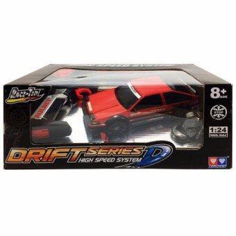 Auldey RC Drift Series D High Speed System Race Tin Drift RC Car รถแข่ง ดริฟท์ บังคับวิทยุตราเพชร 1 ต่อ 24 Akina Car