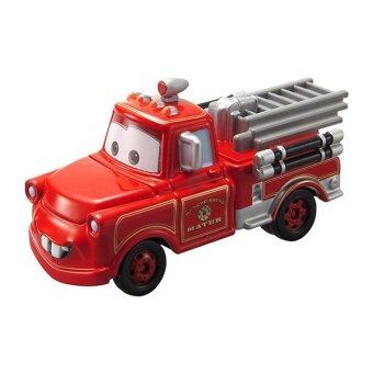 Tomica Disney Pixar Cars C-35 Toon Rescue Squad Mater Fire Truck (Red)