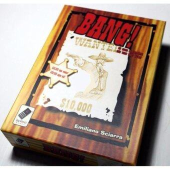 Bang Board Game Paper Card 5-7 Players Game English Version Family Friends Board Games Part for Halloween Party - intl (image 1)
