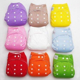 New 10 PCS +10 INSERTS Adjustable Reusable Lot Baby Washable Cloth Diaper Nappies - intl