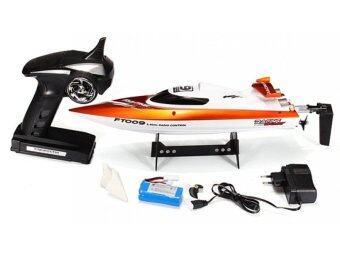 Hitech เรือบังคับไฟฟ้า 2.4 Ghz SPEED BOAT รุ่น FT009 (Orange)