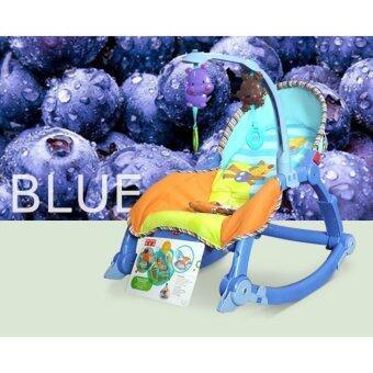 2Kids BABY THRONE เปลโยก 3 in 1-สีฟ้า image