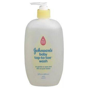 Johnson's baby top-to-toe wash 500ml. (1ขวด)