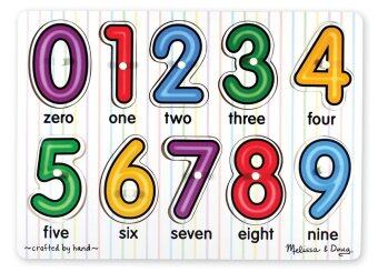 Melissa and Doug See Inside Numbers Puzzle