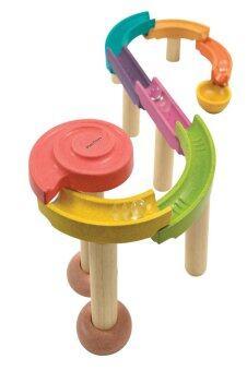 PlanToys ของเล่นไม้ Marble Run - Standard ระบบรางลูกแก้ว (ชุดเล็ก) (image 0)