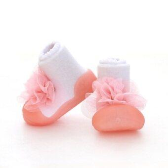 Attipas รองเท้าหัดเดิน Corsage Pink
