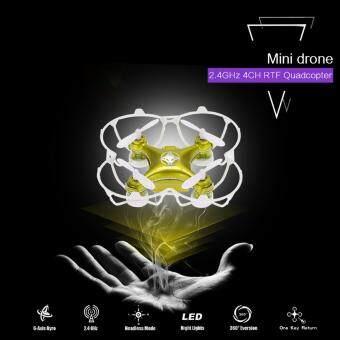 DRONE MINI XA-4 เร็วแรง มาพร้อมระบบ บินกลับมาอัตโนมัติ(มีปุ่มตีลัง 360 องศา) (image 0)
