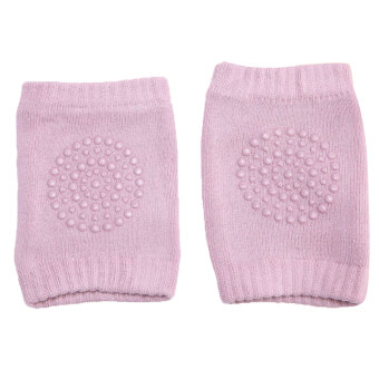 Safety Cotton Baby Knee Pads Crawling Protector Leg Kids Short Kneecaps Pink