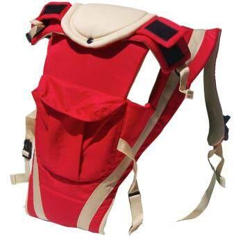 WILLBABY เป้อุ้มเด็ก 4 in 1 Baby Carrier - สีแดง