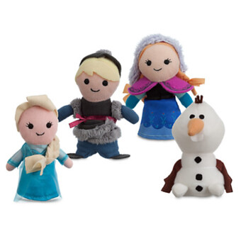 Disney Frozen Finger puppet set from Disney - Blue