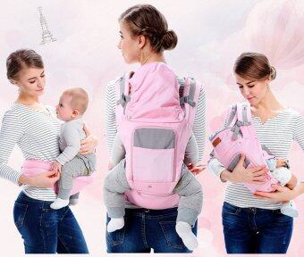 Baby เป้อุ้มเด็ก เป้สะพายเด็ก เป้อุ้มทารก เป้อุ้ม Baby Carrier รุ่นขายดี สีชมพู