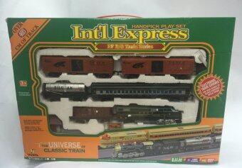 Worktoys รถไฟ Int'l Express Classic Train กล่องใหญ่ รางยาว 4 เมตร มีเสียง มีไฟ
