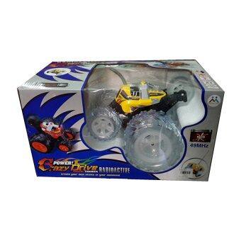 รถบังคับวิทยุ รถแข่งของเล่น รถสตั๊น ล้อโต รถบังคับวิทยุ แบต+ที่ชาร์ต ล้อกระพริบมีไฟ รุ่น L8239