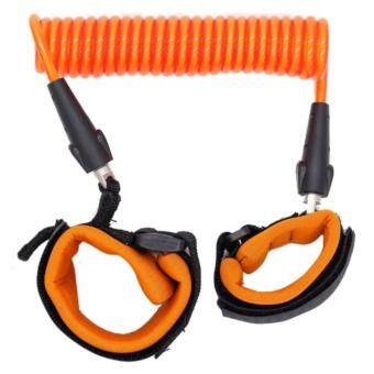 EXCEED HARNES SAFETY BABY ( Orange Colour ) สายจูงเด็กกันพลัดหลง ( สีส้ม ) HSB001 Baby Kids Keeper Baby Walkers Wrestling Belt Infant Wrist Safety Harness Child Leash Anti Lost Wrist Link Traction Rope