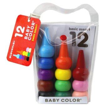 Baby Color สีเทียน 12