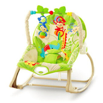 smartbabyandkid เปลโยก-สั่น ibaby Infant-to-toddler Rainforest Friends