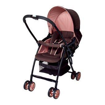 Aprica รถเข็นเด็กแรกเกิด รุ่น karoon - สีชมพู