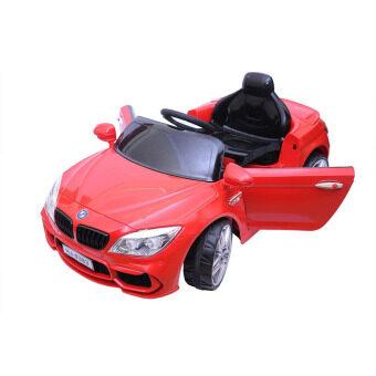 BMW Series 1 Convertible 2 Motors รถแบตเตอรี่เด็กนั่ง LN5618 ( Red )