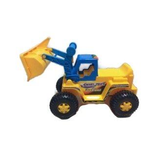 Victory Toys - รถเกรดเด็กนั่งขาไถ (สีเหลือง/ฟ้า)