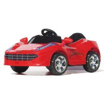 Uni รถบังคับวิทยุ รถบังคับดริฟ รถบังคับไฟฟ้า รถเก๋งเด็ก เฟอรารี่ (สีแดง)