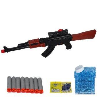 BKL TOY ปืน ปืนยาวAK47 ยิงกระสุนโฟมและน้ำ2แบบ AK47-2
