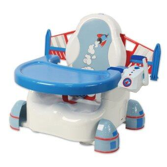 Summer Infant Rocket Booster feeding&Play seat - White/Blue