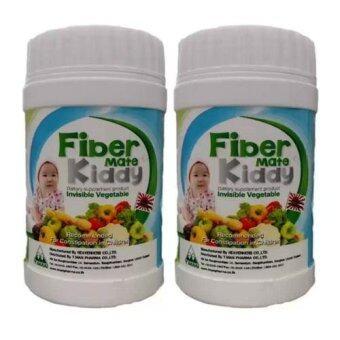 Fiber Mate Kiddy 60 G ฟเบอร์เมท คิดดี้ 60กรัม >> ท้องผูกจะหายไป ปลอดภัยตั้งแต่แรกเกิด (2 ขวด)
