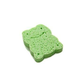 Ange ฟองน้ำทำจากใยพืช อังจู สำหรับเด็ก (สีเขียว)
