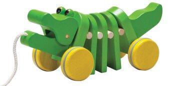 PlanToys ของเล่นไม้ Dancing Alligator จระเข้เต้นรำ
