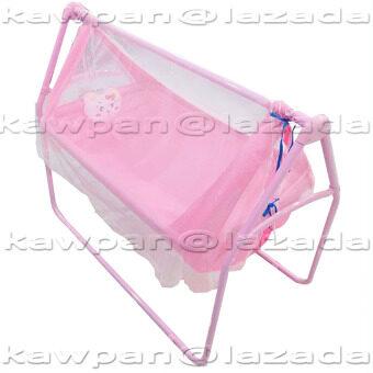 K.baby เปลไกวเด็กอ่อน + มุ้งกันยุงและแมลง รุ่น C- 6148 (สีชมพู)