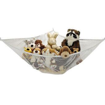 Amango Jumbo Toy Hammock Net Organize Stuffed Animals And Bath Kids Toys