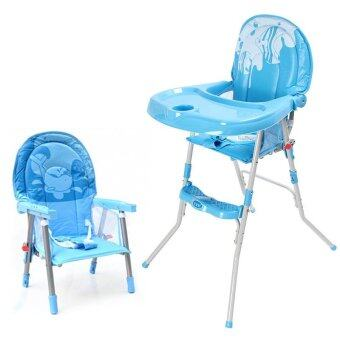 Happy Baby เก้าอี้ทานข้าว รุ่น 217C - Blue (image 1)